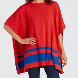 NWT Draper James Spirit Sweater Cape